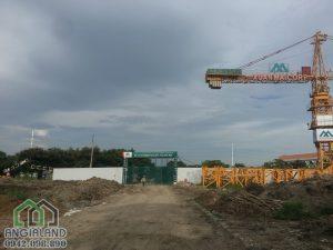 Tiến độ xây dựng dự án căn hộ chung cư Eco Green Sài Gòn Quận 7 10/05/2018