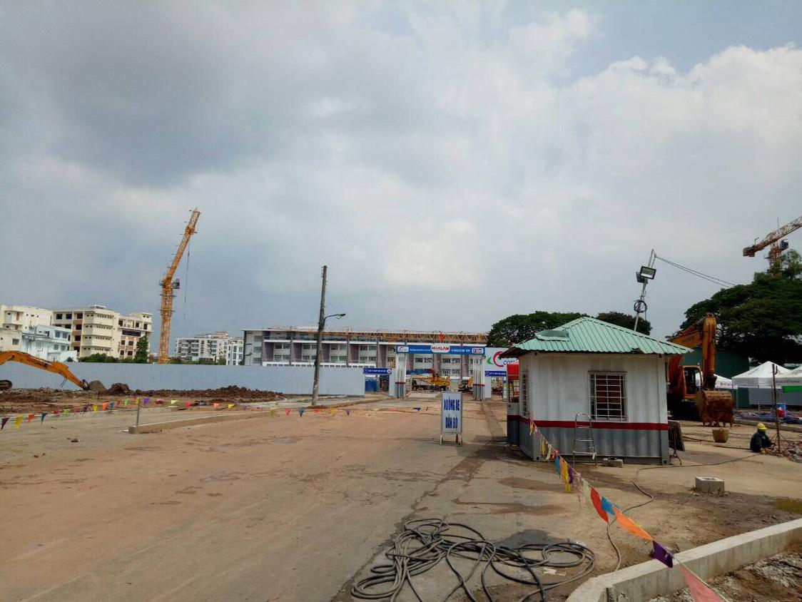 Tiến độ dự án căn hộ Kingdom 101 Tô Hiến Thành Quận 10 - Cập nhập ngày 03/05/2018 - Liên hệ 0942.098.890