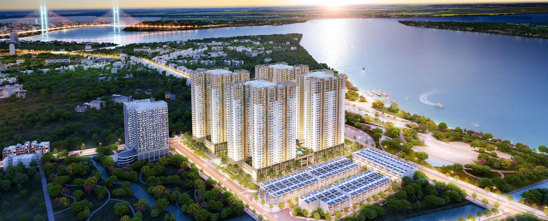 Dự án căn hộ Saigon Riverside Complex của chủ đầu tư Hưng Thịnh