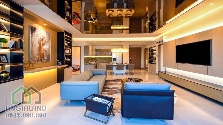Nhà mẫu căn hộ The Metropole Thủ Thiêm Quận 2 - Căn hộ 3PN - Liên hệ xem nhà mẫu 0942.098.890