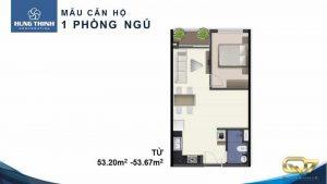 Bán căn hộ Q7 Saigon Riverside Complex 1PN cao cấp giá rẻ nhất chủ đầu tư