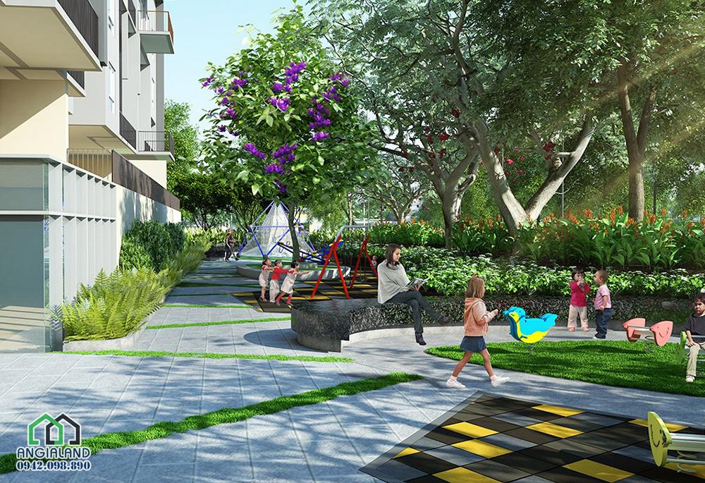 Không gian tiện ích dự án Vista Verde Quận 2
