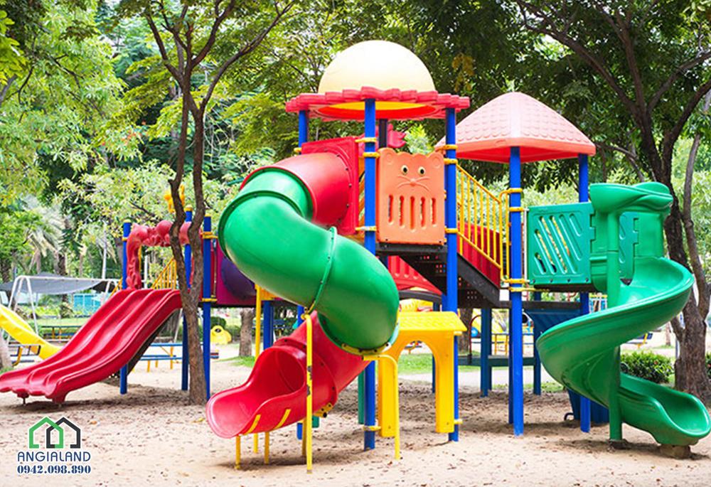 Khu vui chơi trẻ em tại dự án The Sun Avenue Quận 2