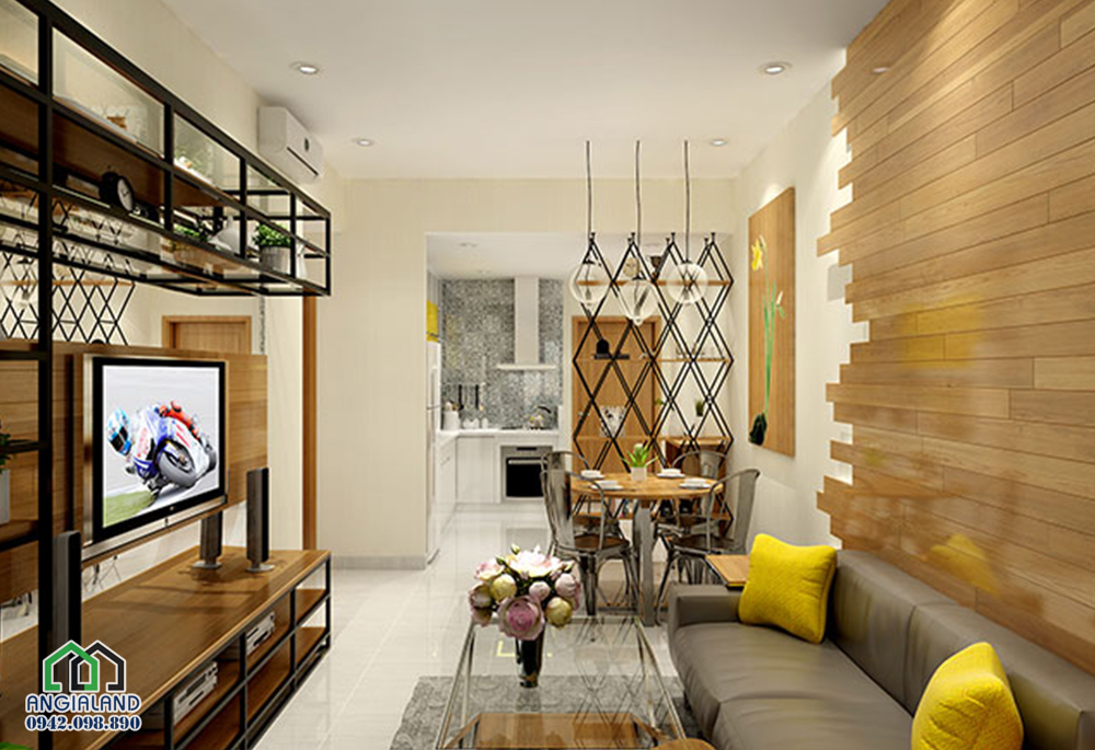 Thiết kế căn hộ mẫu dự án The Sun Avenue Quận 2