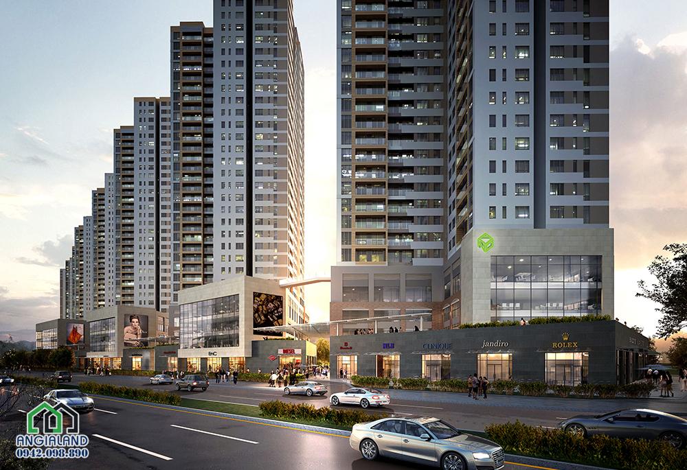 Dự án căn hộ cao cấp The Sun Avenue Quận 2