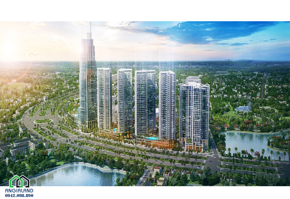 Dự án Eco Green Sài Gòn mặt tiền Nguyễn Văn Linh