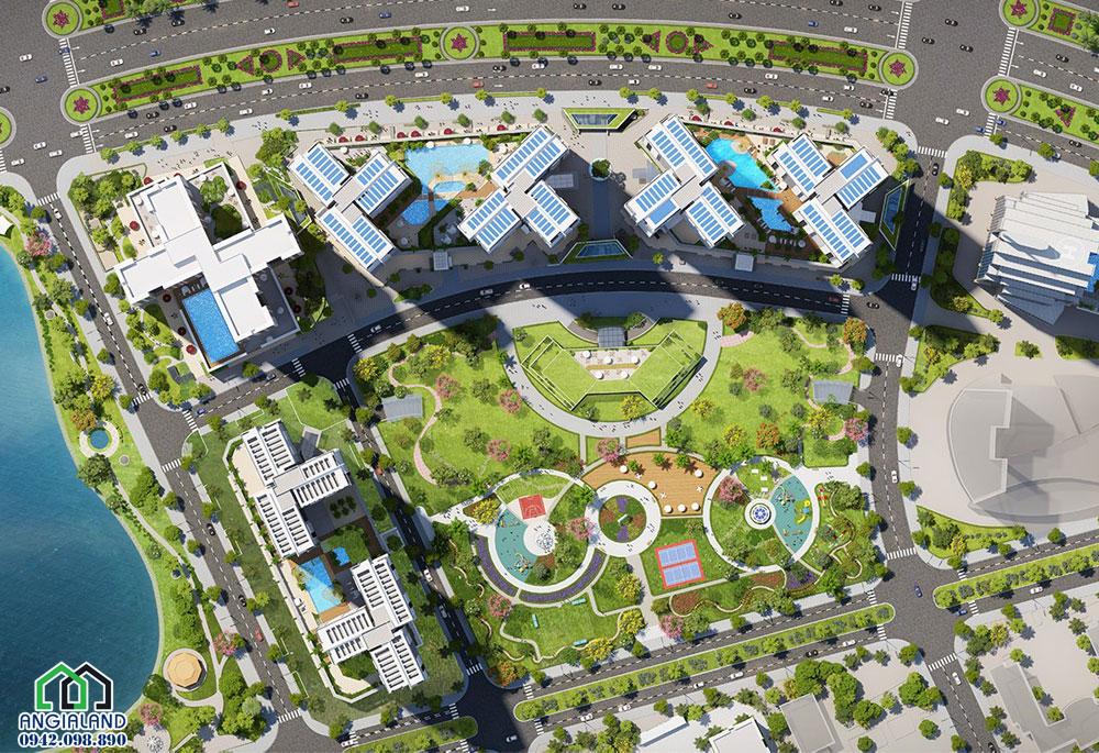 Thiết kế Mặt bằng dự án căn hộ chung cư Eco Green Sài Gòn Quận 7