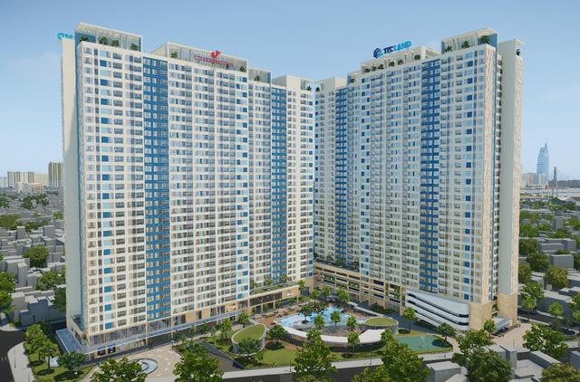 Charminton Iris – mặt tiền Tôn Thất Thuyết, Quận 4 của TTC Land sẽ cung ứng 1.438 căn hộ cho thị trường căn hộ cao cấp quận trung tâm.