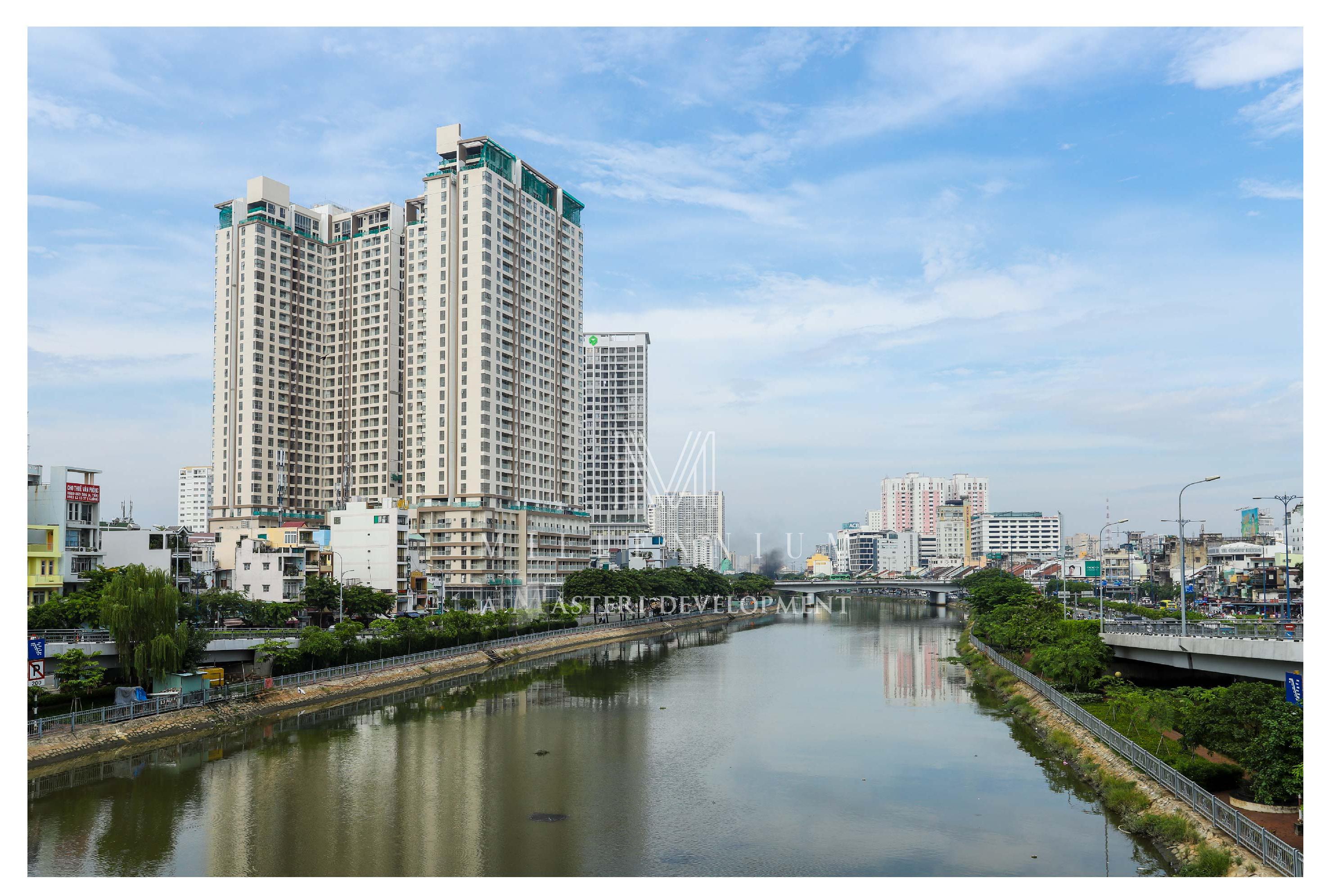 Toàn cảnh dự án căn hộ chung cư cho thuê Masteri Millennium Quận 4