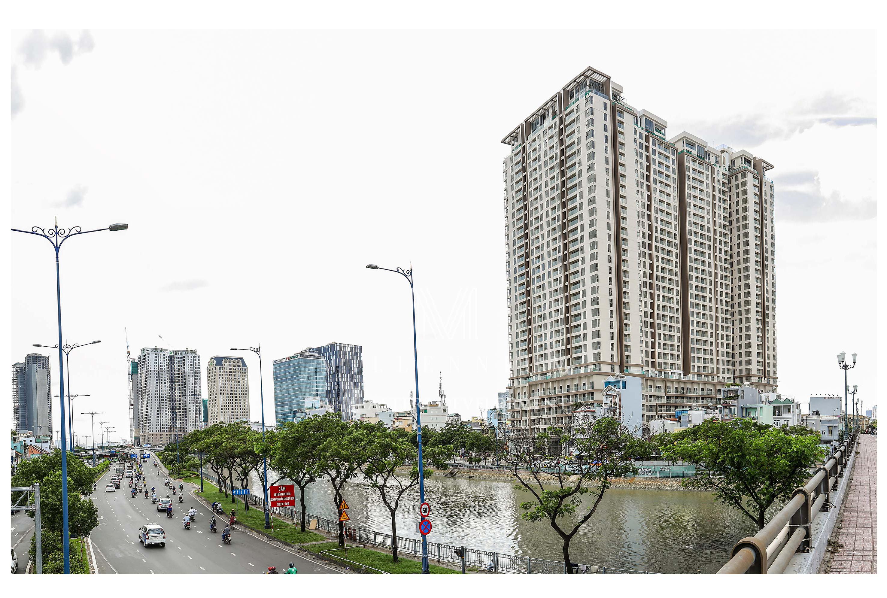 Toàn cảnh dự án căn hộ chung cư cho thuê Masteri Millennium Quận 4 -Liên hệ SGD BĐS Lộc Phát Hưng - Hotline 0942.098.890 - 0973.098.890 hỗ trợ xem thực tế các căn hộ