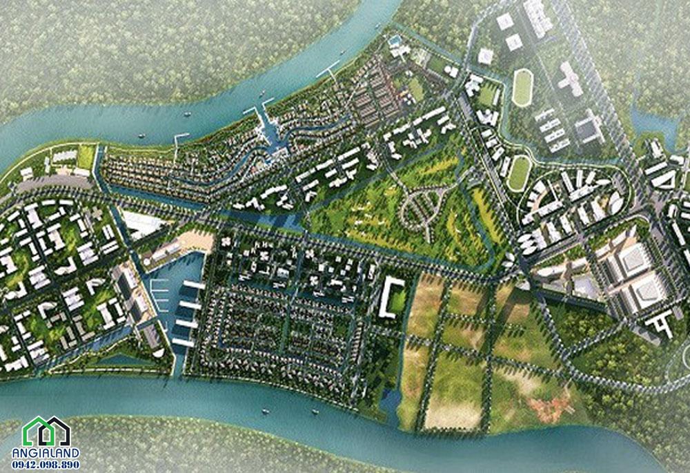 Cảnh Quang dự án đất nền Waterpoint Long An