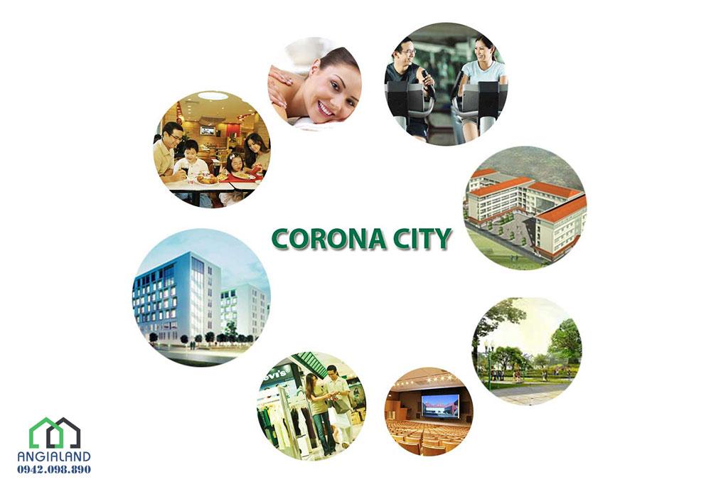 Tiện ích dự án căn hộ nhà phố Corona City Khang Điền Bình Chánh