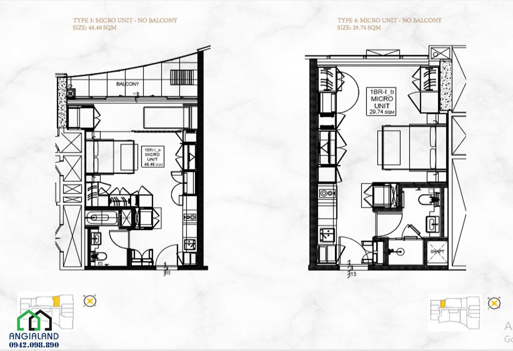 Thiết kế dư án căn hộ Alpha City Cống Quỳnh Quận 1