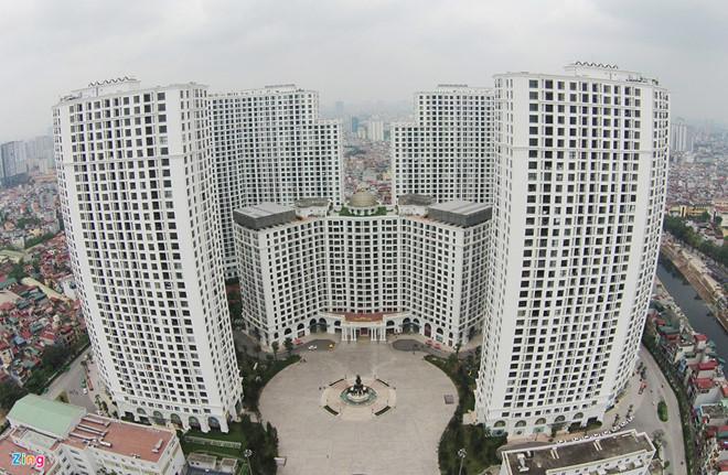 Vinhomes đang điều hành 10 dự án với tổng gần 18.000 căn hộ, biệt thự, nhà phố thương mại