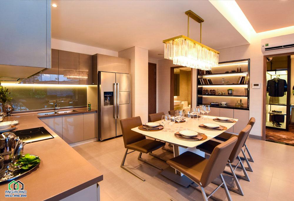 Khu vực bếp dự án căn hộ chung cư Eco Green Sài Gòn Quận 7