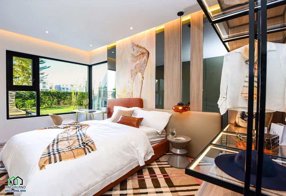 Phòng ngủ Master dự án căn hộ chung cư Eco Green Sài Gòn Quận 7