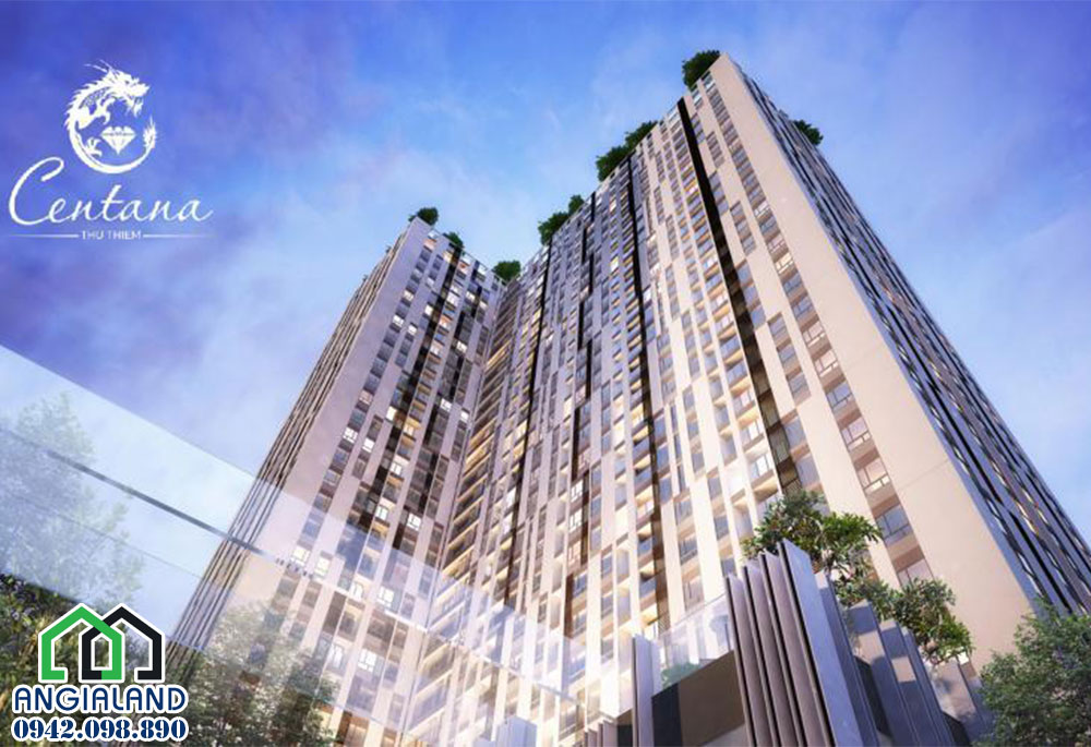 Dự án căn hộ Centan Thủ Thiêm Quận 2