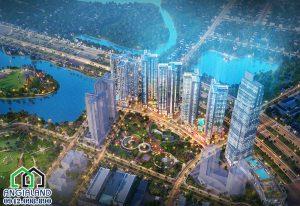 Bán căn hộ Eco Green Sài Gòn Mã căn hộ HR1A1206 thiết kế 3 phòng ngủ