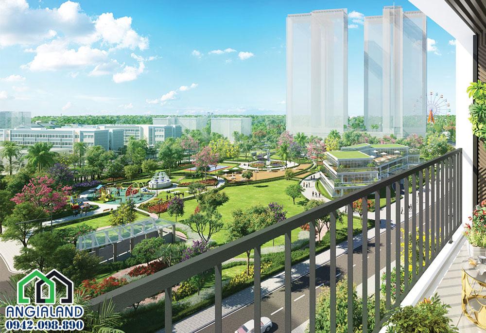 Tiện ích khuôn viên cây xanh tại dự án căn hộ Eco Green Sài Gòn Quận 7