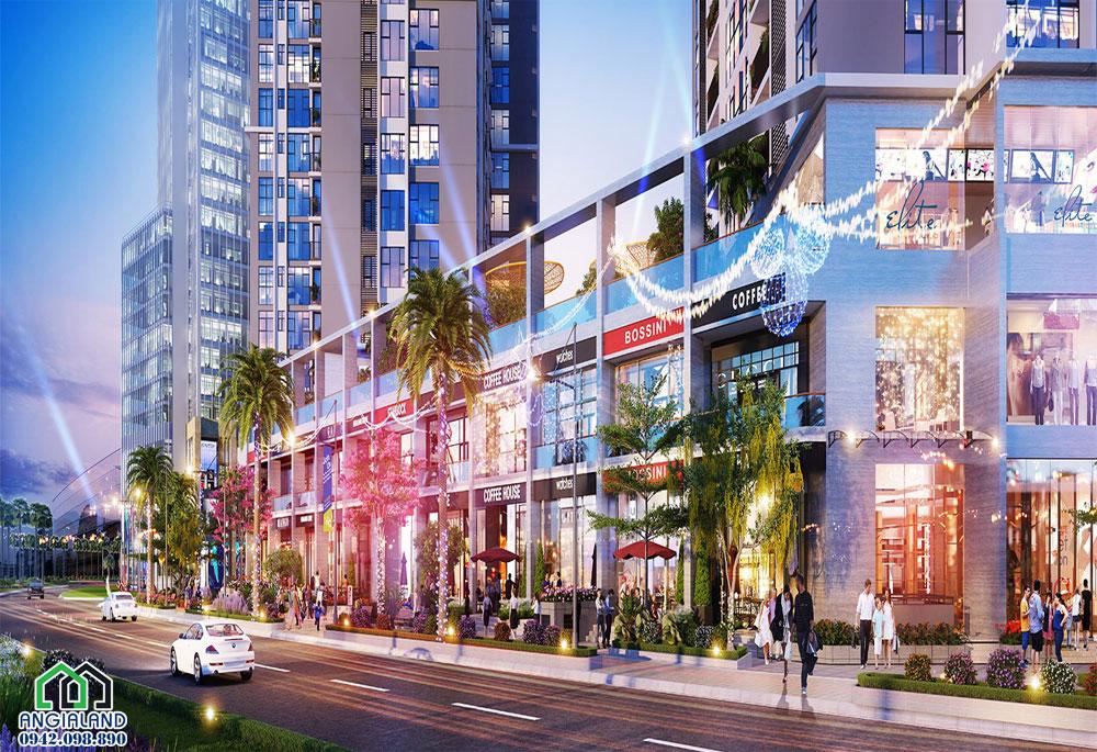 Trung tâm thương mại dịch vụ tại dự án Eco Green Sài Gòn