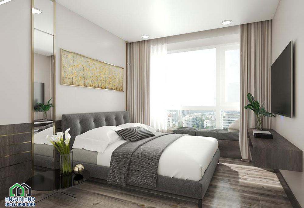 Phòng ngủ thiết kế nội thấtcăn hộ chung cưEco Green Sài Gòn