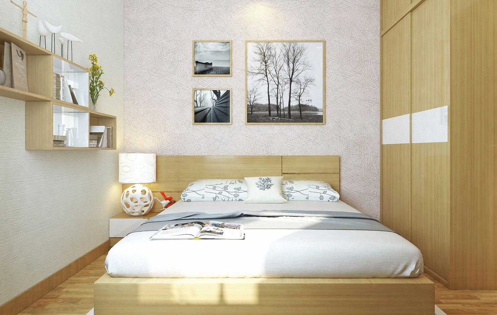 Phòng ngủ nhà mẫu dự án Eco Green Sài Gòn