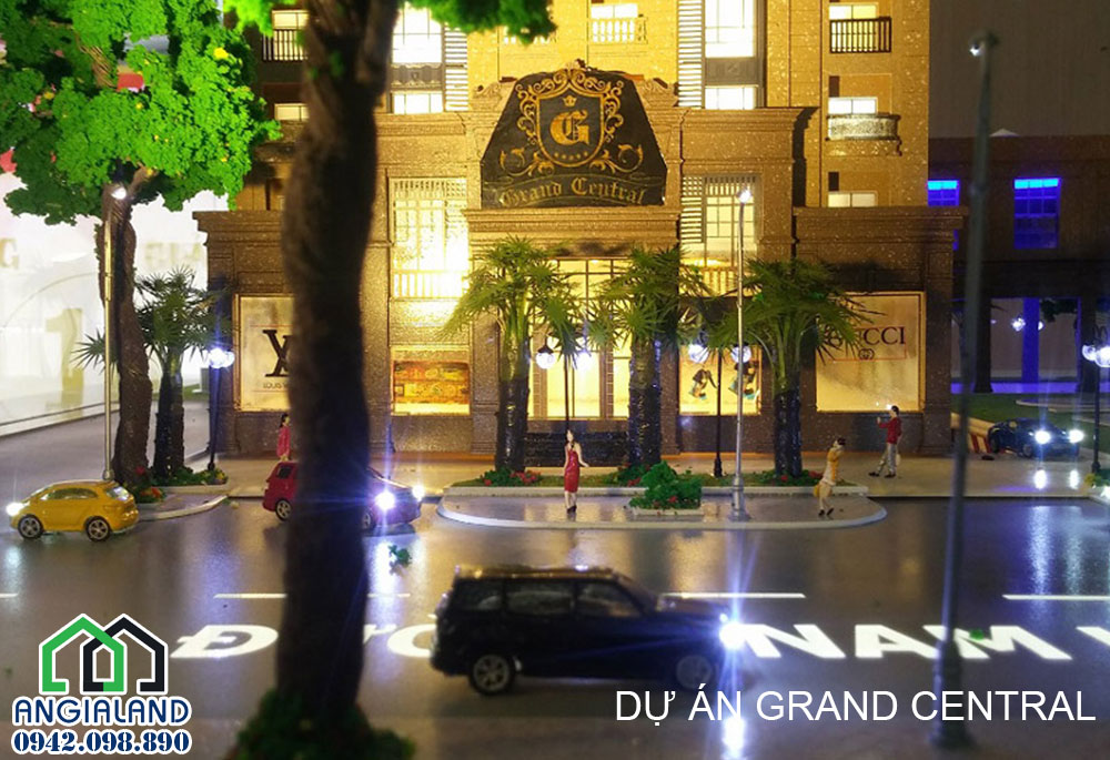 Dự án Grand Central Quận 3