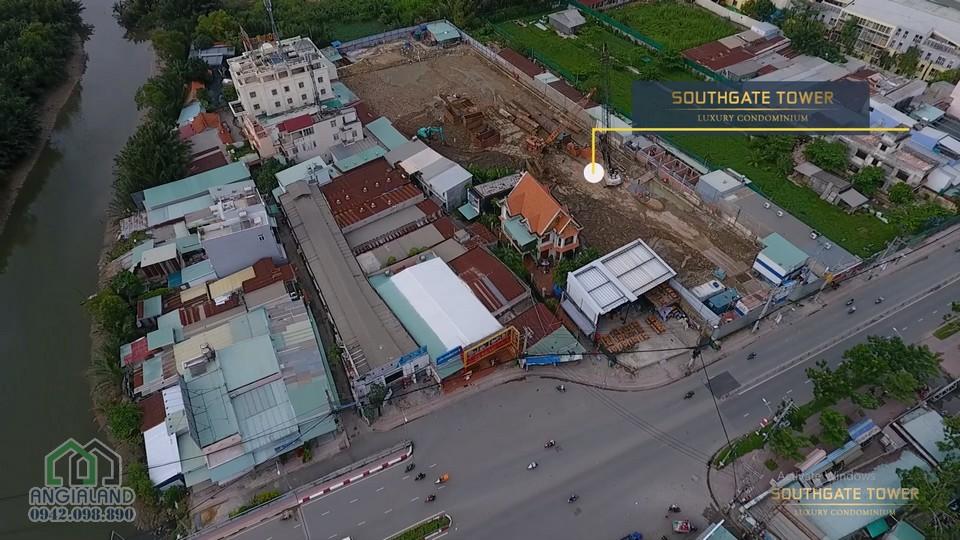 Tiến độ xây dựng dự án căn hộ Southgate Tower Quận 7
