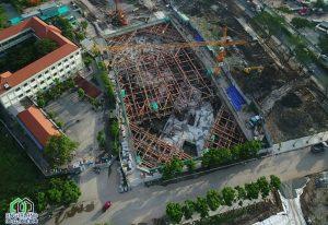 Tiến đọ dự án Eco Green Sài Gòn Quận 7 Tháng 09/2018