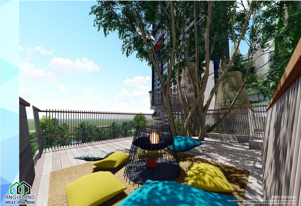 Ngôi nhà Trên cây tại căn hộ Infiniti Riviera Point Nam Sài Gòn