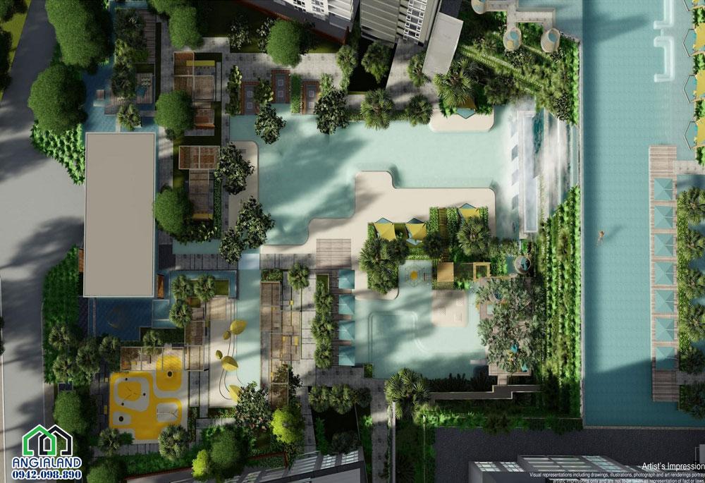 Tiện ích dự án căn hô Infiniti Riviera Point