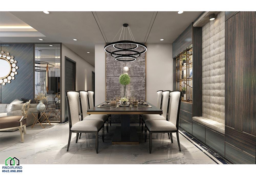 Phòng khách dự án căn hộ chung cư Sunshine City Sài Gòn Quận 7 Đường Phú Thuận chủ đầu tư Sunshine Group