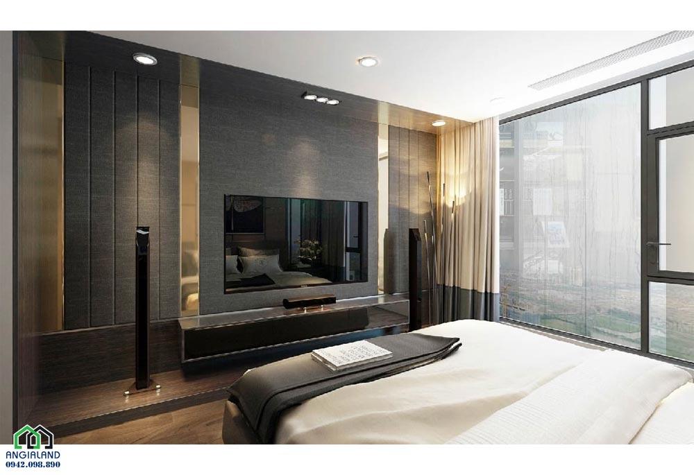 Phòng ngủ 2 căn hộ mẫu dự án căn hộ chung cư Sunshine City Sài Gòn Quận 7 Đường Phú Thuận chủ đầu tư Sunshine Group