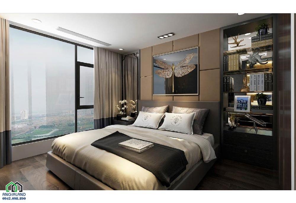 Phòng ngủ 3 căn hộ mẫu dự án căn hộ chung cư Sunshine City Sài Gòn Quận 7 Đường Phú Thuận chủ đầu tư Sunshine Group
