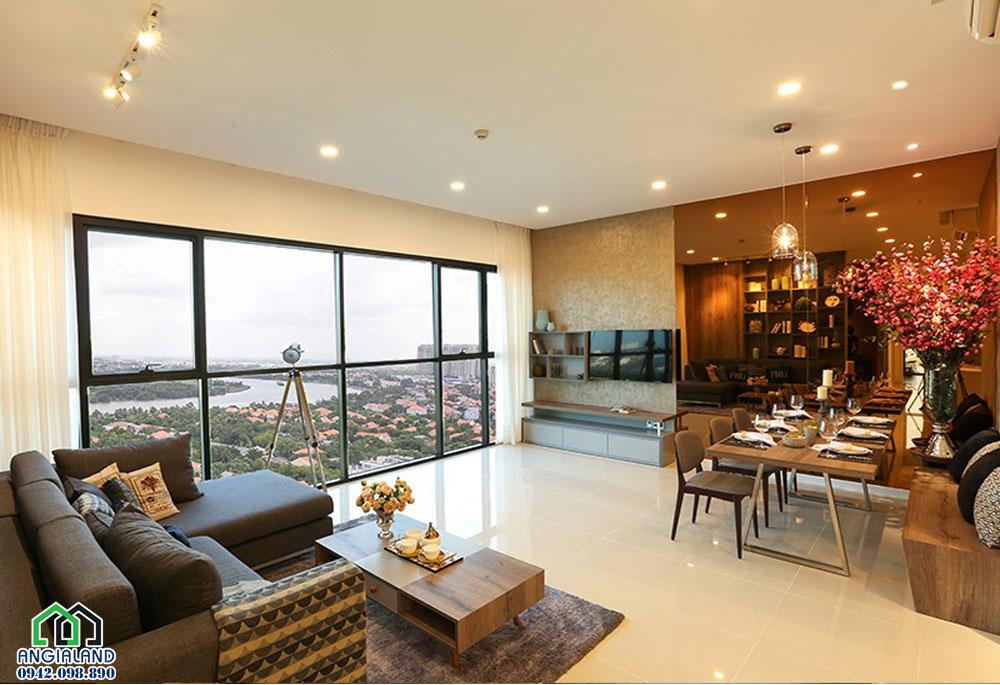 nhà mẫu dự án chung cư ascent Plaza Binh thanh