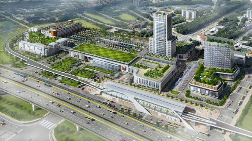Nhiều dự án hạ tầng trọng điểm tạo nên lợi thế cho khu Đông.