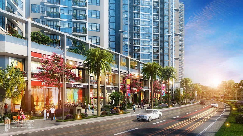 Căn hộ Shop mặt tiền dự án Eco Green Sài Gòn Quận 7