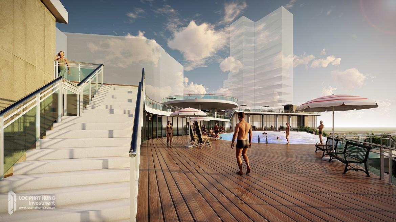 Khách sạn Grand Hyatt cao 68 tầng. Tiêu chuẩn 5* Quốc tế đầu tiên tại Quận 7.