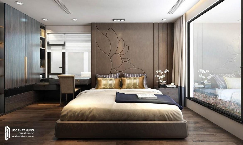Phòng ngủ Master căn hộ Sunshine City Sài Gòn Quận 7 – SGD BĐS Lộc Phát Hưng 0942.098.890 - 0973.098.890