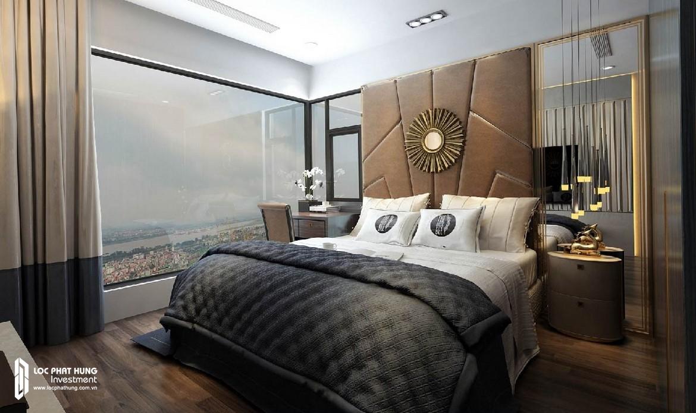 Phòng ngủ 2 căn hộ Sunshine City Sài Gòn Quận 7 – SGD BĐS Lộc Phát Hưng 0942.098.890 - 0973.098.890