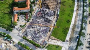 Tiến độ xây dựng dự án căn hộ chung cư Eco Green Sài Gòn Quận 7 Tháng 11/2018