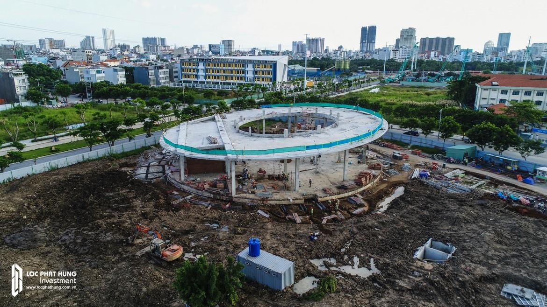 Tiến độ dự án căn hô Eco Green Sài Gòn Tháng 11/2018