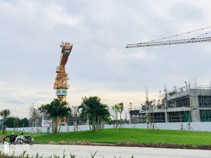 Tiến độ xây dựng dự án căn hộ chung cư Eco Green Sài Gòn Quận 7 Tháng 23-11/2018