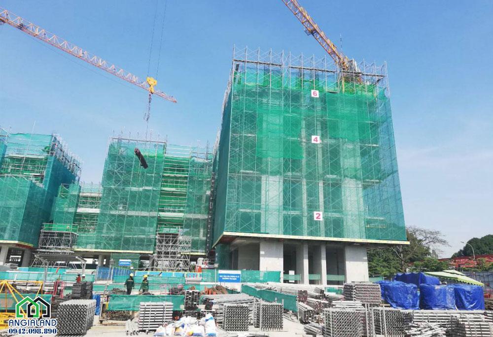 Tiến độ dự án căn hộ cung cư Kingdom 101 Tô Hiến Thành Quận 10