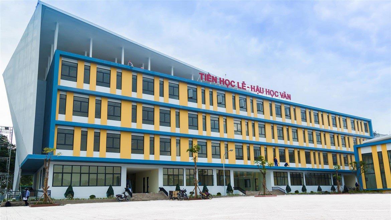 Trường tiểu học Kim Đồng nội khu dự ăn căn hộ Eco Green Sài Gòn Quận 7