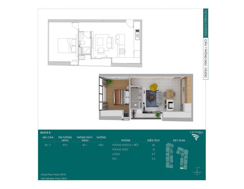 Mặt bằng dự án căn hộ chung cư Victoria Garden Bình Chánh Đường Trần Đại Nghĩa chủ đầu tư Nguyên Hạnh Lợi