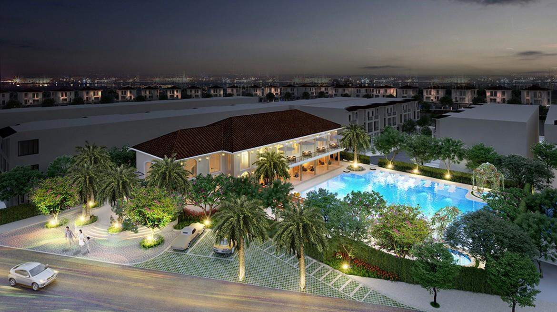 Clubhouse, hồ bơi, Gym, trung tâm thương mại nội khu dự án Nhà phố + Biệt thự Senturia Nam Sài Gòn