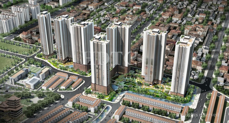 Quy mô cụm CT3 và CT4 dự án căn hộ chung cư Raemian City Quận 2