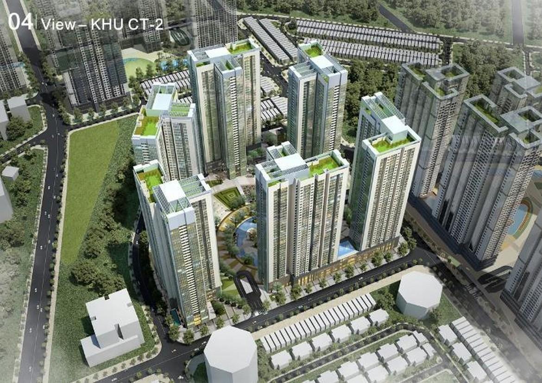 Quy mô cụm CT2 dự án căn hộ chung cư Raemian City Quận 2