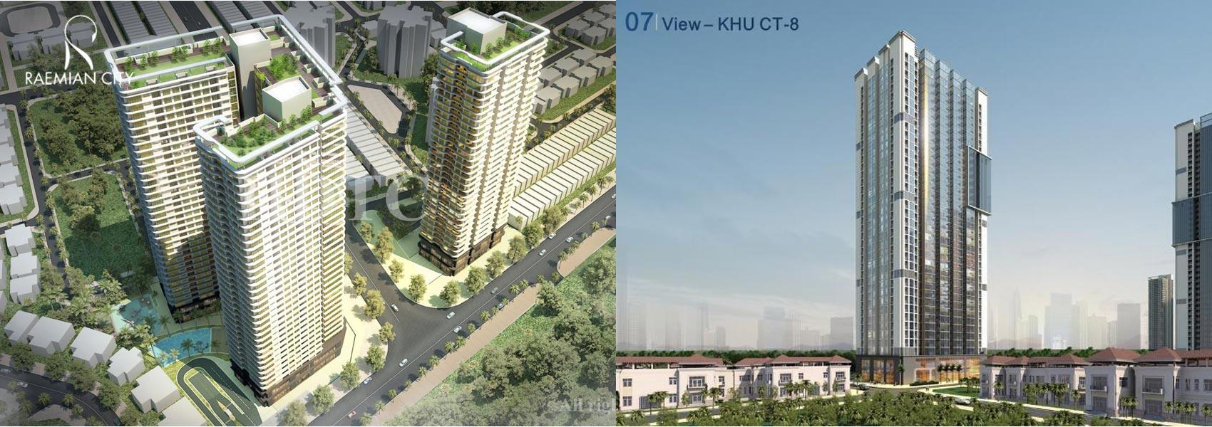 Mua bán cho thuê dự án căn hộ chung cư Raemian City Quận 2 Phường An Phú An Khánh chủ đầu tư HDTC
